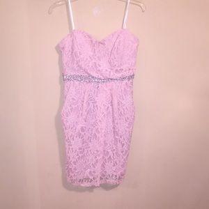 Glitter Homecoming Dress